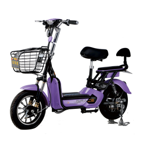350W Acid-lead Storage Battery Electric Bicycle Mini Moped With Cheap Price