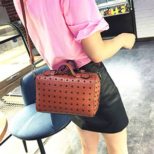 2016 Hot Sell Fashional Popular Pu Leather Girl Should Bag Tote Bag