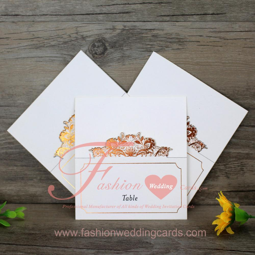 Paper Type Table Card For Wedding Invitation View Table Card Fashion Card Product Details From Guangzhou Fashion Cards Paper Products Co Ltd On