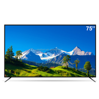 "70""75""85"" big size led tv for home use big house 4K thin Ultra smart android wifi television"