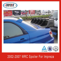 WRC STYLE!!!CARBON FIBER REAR SPOILER FOR IMPREZA 2002-2007