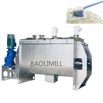 food powder mixer machine/wheat flour mixer machine/ribbon mixer