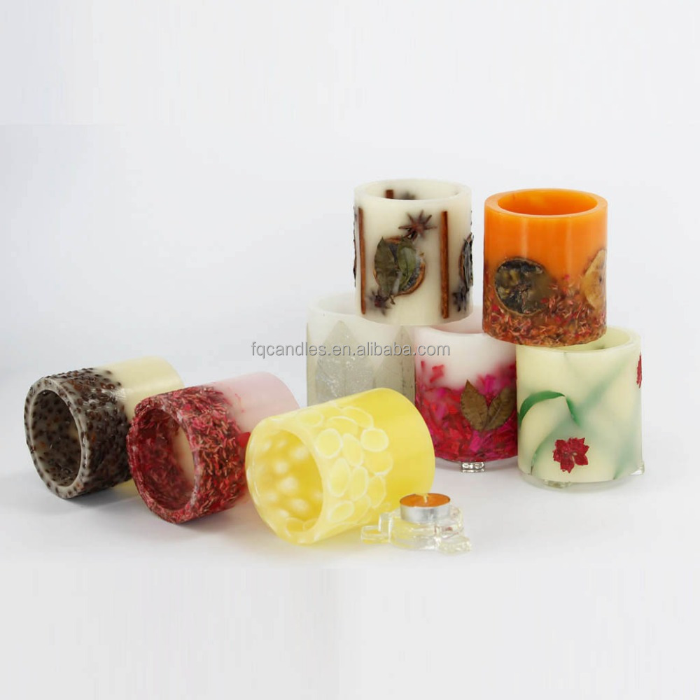 new product dried flower tealight candle