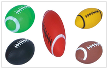 PVC 6 Inch Inflatable Toy Rugby Ball