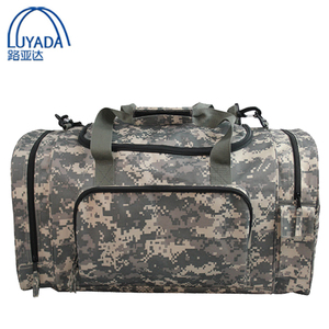 Durable camo military shoulder sports bag Gym Bag duffel bag