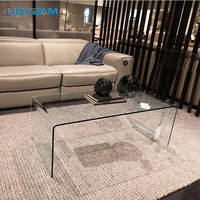 Modern Design Tempered Coffee Glass Center Table