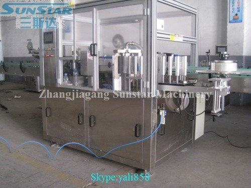 6000-16000bph high quality bottle cup jar can hot melt glue pasting machine