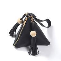 2018 Newest Style Fashion Ladies Coin Purse Cheap Factory Wholesale Oversized PU Tassel Clutch Bag Women