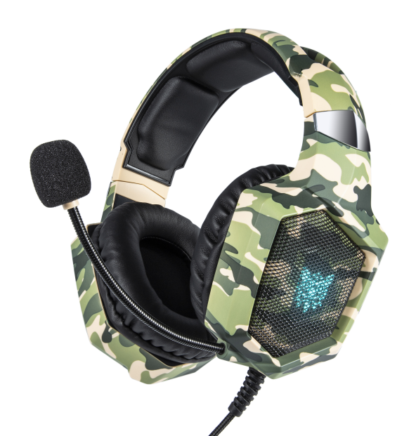 ONIKUMA new model wired gaming headset with flexible mic free <strong>sample</strong>