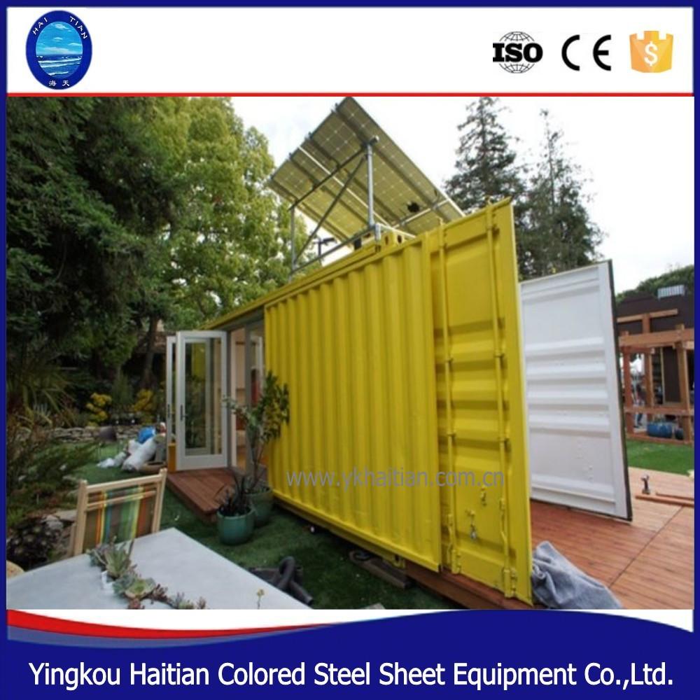 20ft 40ft moderne préfabriqué gratuite maisons conteneurs plans ...