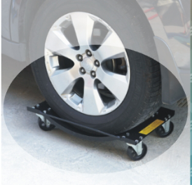 Vehicle positioning Wheel Dollies, 1000lb Auto Skate Rolling Jack, Portable Car Wheel Dolly