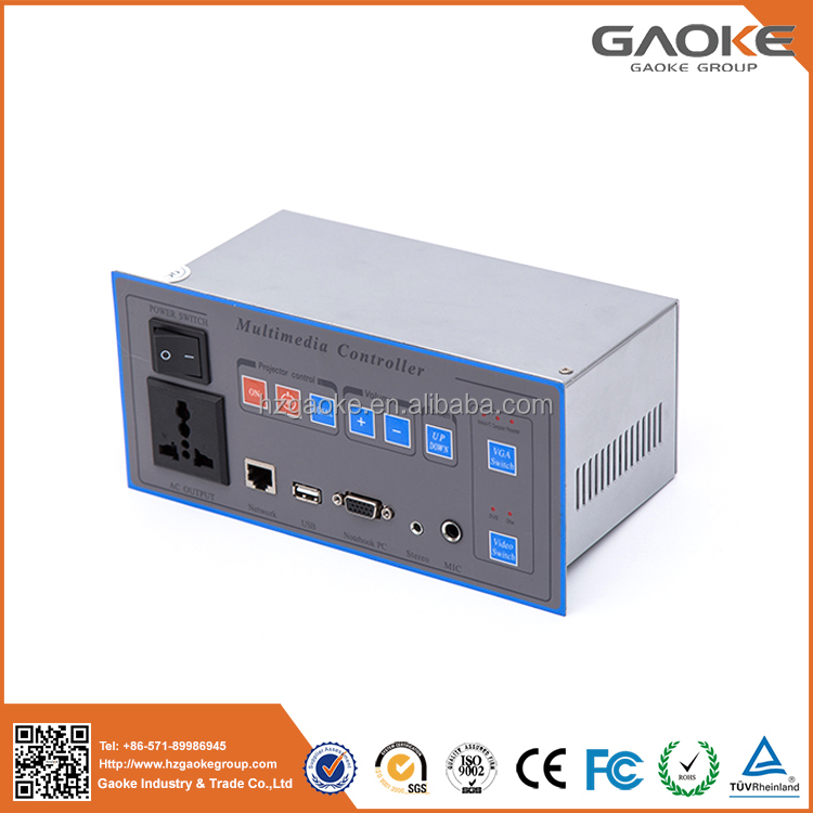 High quality Multimedia Controller System/teaching central audio controller for Panasonic projector and Prometheus board