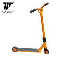 HK Top brand Maxbike riders choice golden aluminum complete scooter pro stunt scooter