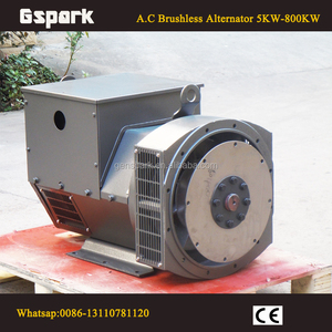 1800rpm 3 phase brushless 30KW PTO operated generators