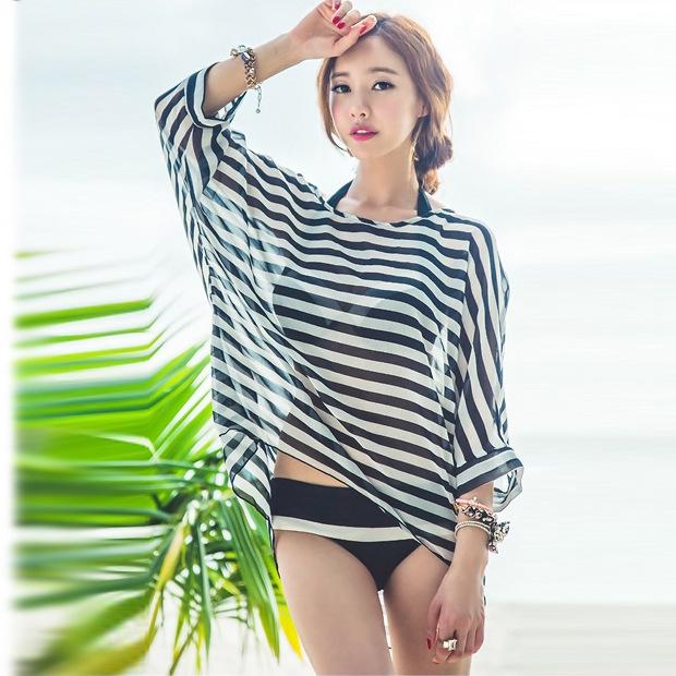 18866c629f9fb Get Quotations · 2014 Summer Ladies Women Beach Wear Swimsuit Cover-Ups  Sexy bikini Chiffon Beach Cover Up
