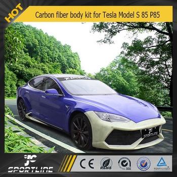 Carbon Fiber Bumper Body Kit For Tesla Model S 85 P85 - Buy Carbon Fiber  Bumper Body Kit,Carbon Fiber Body Kits,Car Body Kit For Tesla Product on