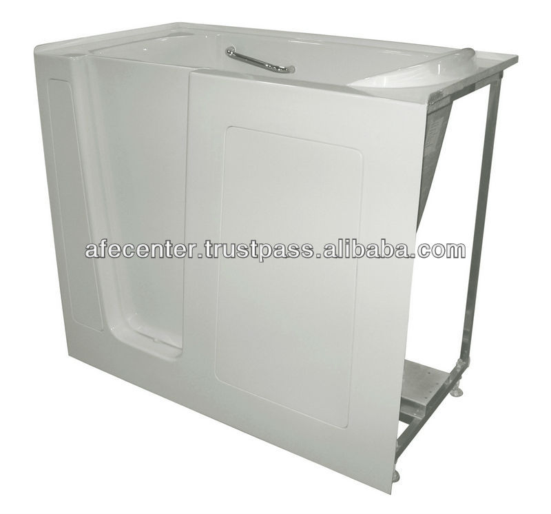 Open Door Bathtub With Seat Bahtub For Old People And Disabled ...