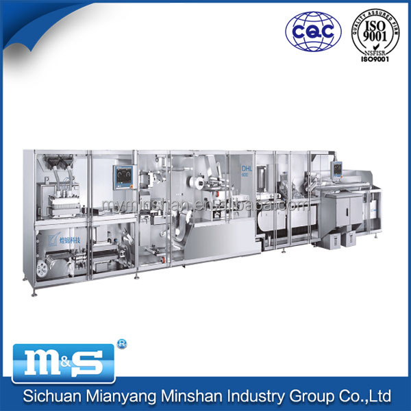 Minshan full servo blister packaging and deeping machine/automatic packing machine