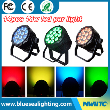 14pcs rgbwa uv waterproof uv light underwater led lights for fountains