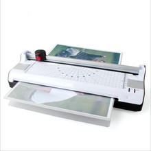 Top Multifunctionele Tafel id-kaart Thermische Flatbed Foto Laminator met Papier <span class=keywords><strong>Trimmer</strong></span>