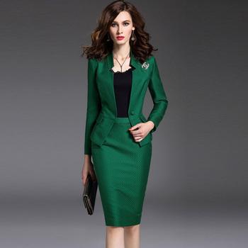 2017 Hot Sale Top Grade Women Ladies Business Office Suit Formal