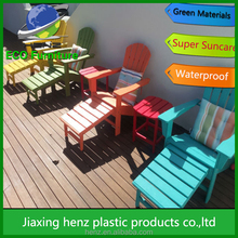 wholesale recycled plastic folding beach adirondack chair form China