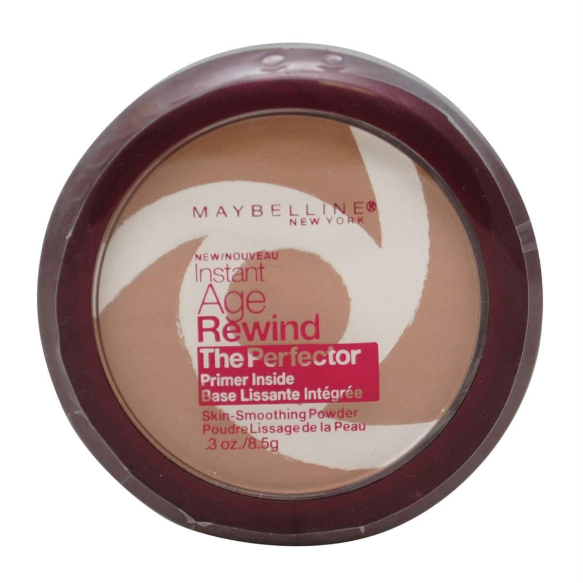 Maybelline New York Instant Age Rewind The Perfector Powder, Medium/Deep, 0.3 Ounce (Pack of 2)