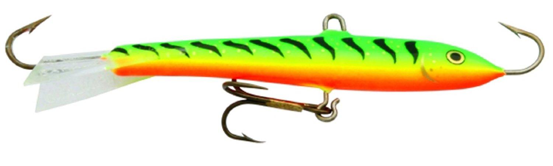 Rapala Jigging Rap 02 Fishing lure 1.25-Inch NEW Glow Hot Perch W2GHP