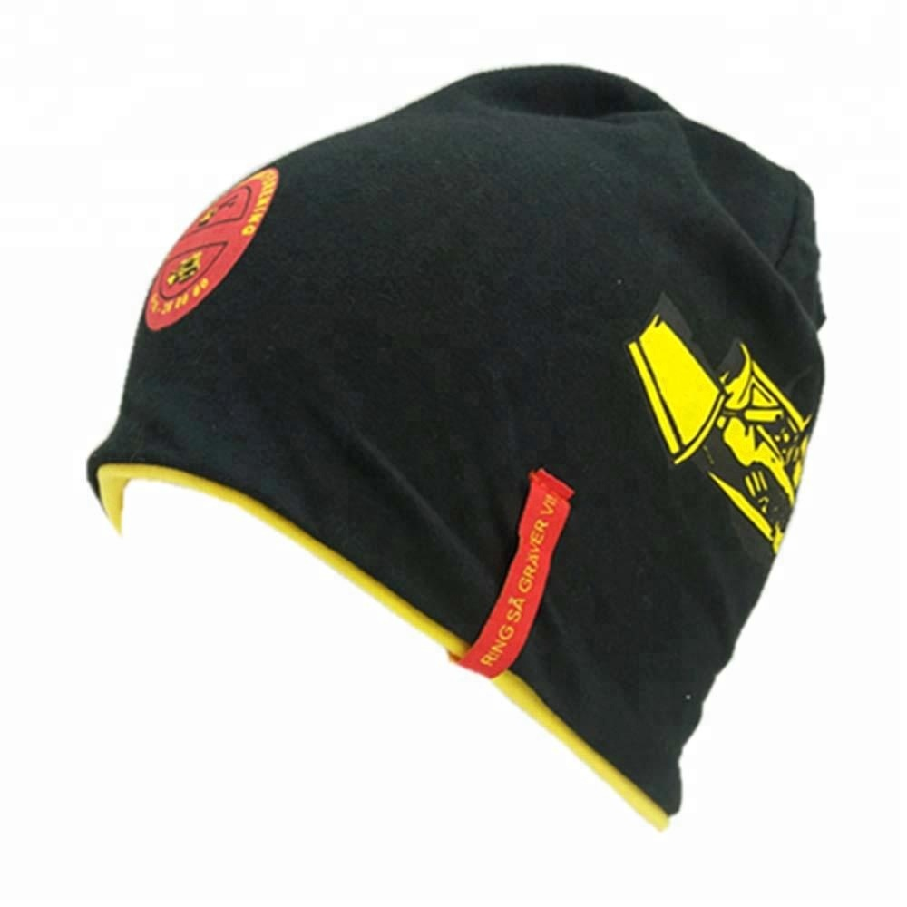 e5bd94f8 Custom Unisex Winter Hat with Reversible Printing Promotional Sports Beanie  Hat. Hot sale products