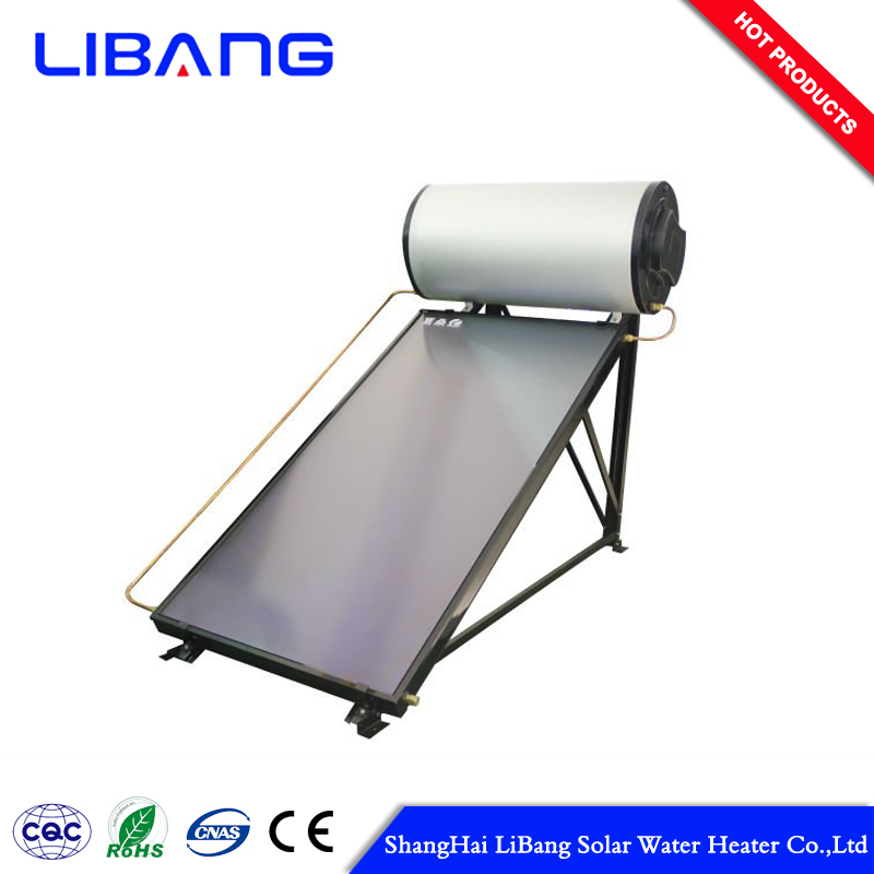 Long lifetime flat plate solar water heater price collector
