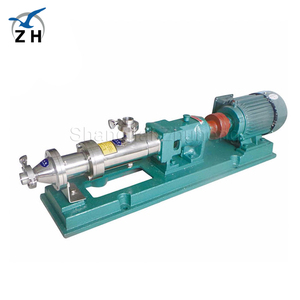Stainless steel food grade g type single rotor rotary mono twin screw pump with cheap price