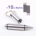 Dito Mini EDC Pocket Tactical Pen Survival Outdoor Stainless Steel Keychain Tool Broken Window Glass Breaker