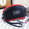 Korean New design ladies make upcosmetic bag simple compartment cosmetic bag portable cosmetic bag