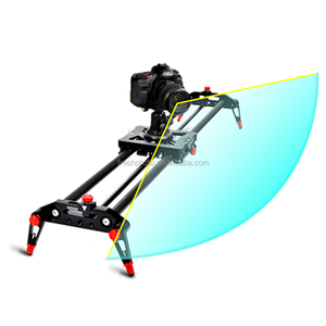 motorized carbon fiber 100cm follow focus auto pan time lapse shoot camera trailer wheel electric dolly with folding support leg