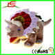 Wholesale Plush Stuffed Animal Toy colorful Triceratops Dinosaur