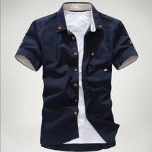 Letná pánska košeľa z Aliexpress