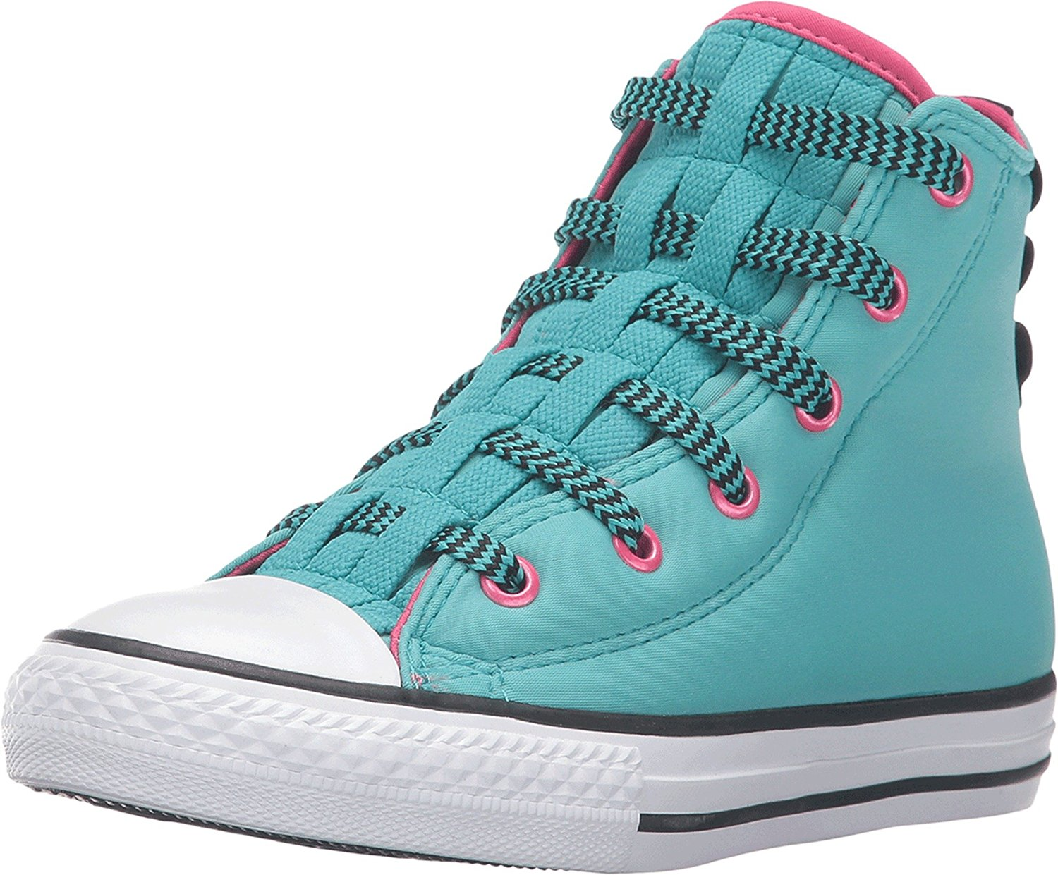 e98578b137a0 Get Quotations · Converse Kids Womens Chuck Taylor All Star Loopholes Hi  (Little Kid Big Kid)