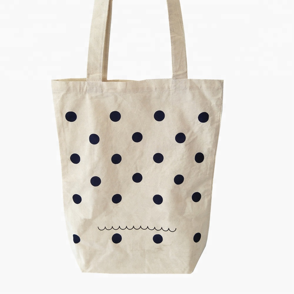 cloth shopping tote bag <strong>promotion</strong> printed cotton calico bag