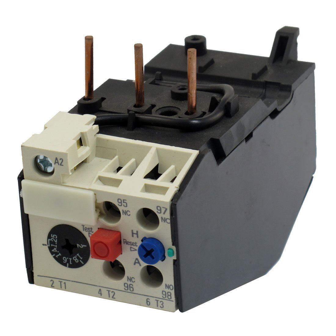 Cheap Types Of Overload Relays Find Deals Abb Solid State Relay Get Quotations Uxcell Jrs2 25 2a 3 Pole 125 Current Range Motor Thermal