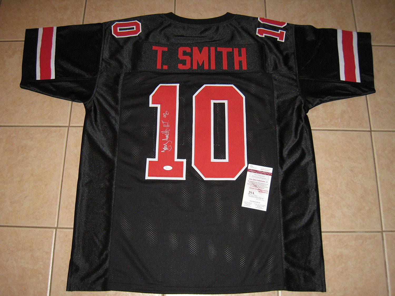 custom black ohio state jersey