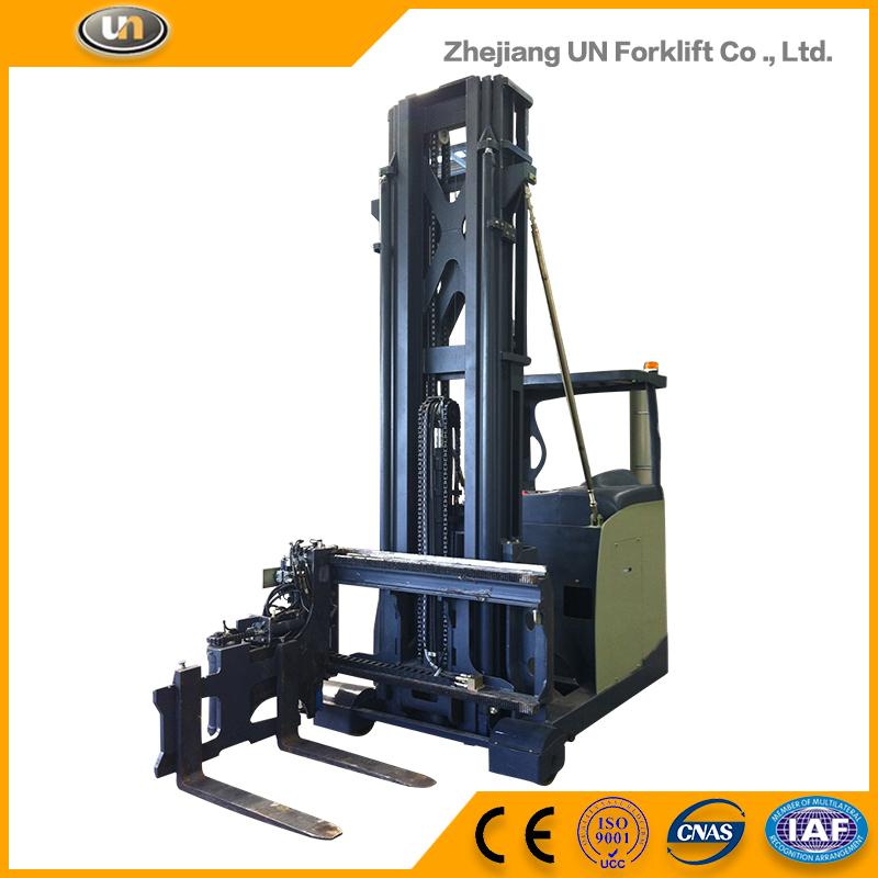 1 5ton Narrow Aisle Forklift For Side Loading Forklift