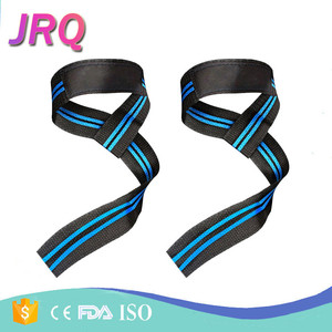 wrist wraps Weightlifting Cotton Neoprene Padded Bodybuilding lifting Wrist Straps For Strength Training Powerlifting