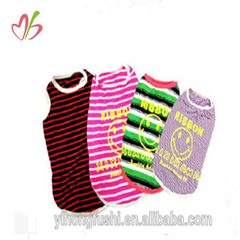 Xxl Autumn Winter Striped Cute Wholesale Clothes Large Breed Dog