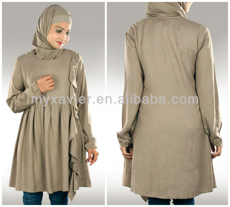 67c72147c9d Casual Muslim Women Tunics Long Tops For Women(s3063) - Buy ...