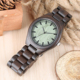 Factory Price Mens Custom Wood Watch Private Label Waterproof