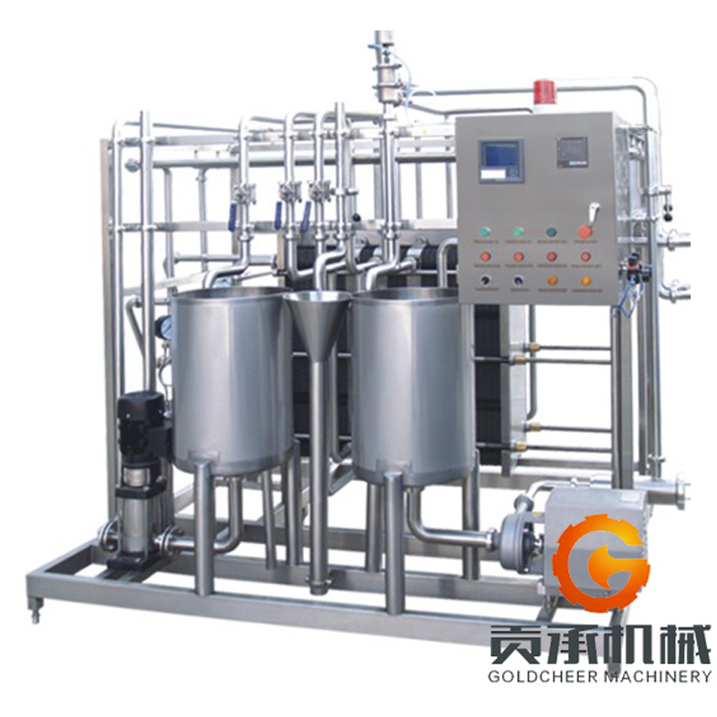 Milk processing machine small uht milk plant