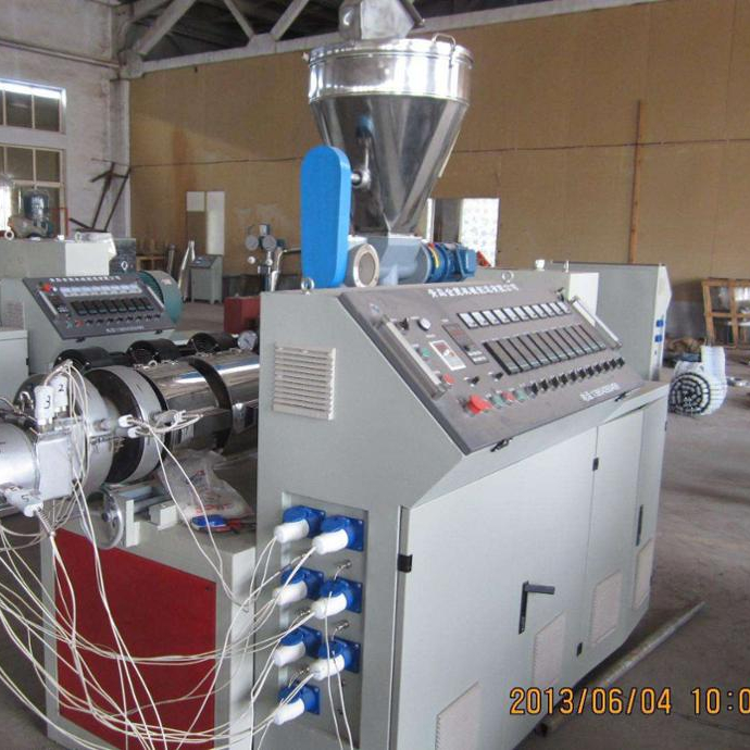 High quality complete set PVC profile pipe extrusion <strong>line</strong>