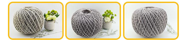 4mm Blanc cordon en macramé pour meubles