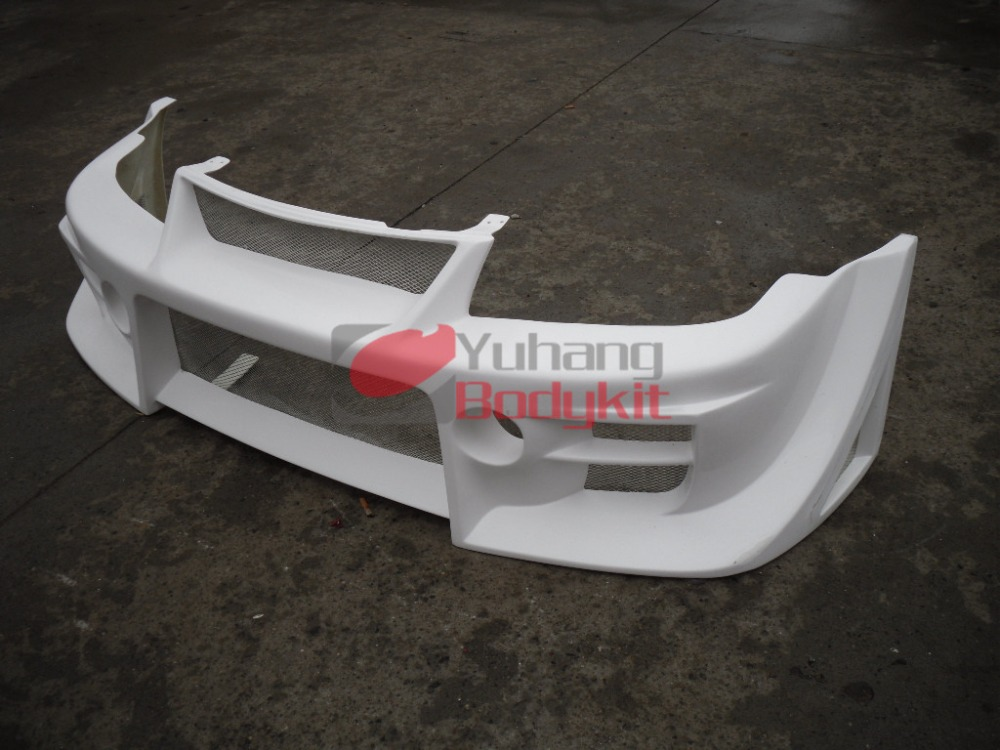 Car Accessories FRP Fiber Glass Bodykit For Lancer Evolution Evo 6 DAMD Style Front Bumper