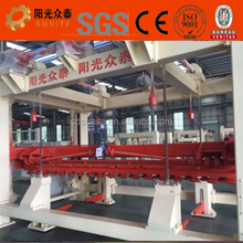Heat preservation and sound insulation light weight construction brick machine